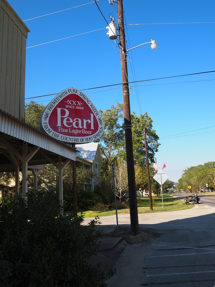 Moulton, Texas and Pearl Beer