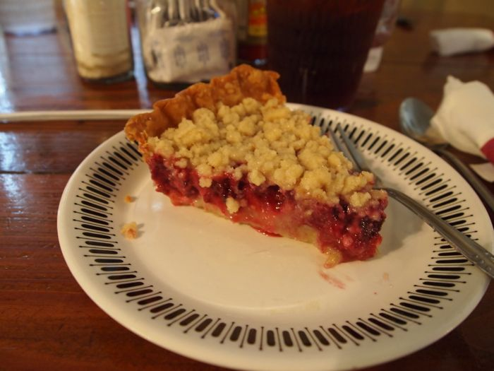 Dewberry Buttermilk Pie